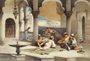 Cesare Dell-acqua - Music Lesson in the Palace
