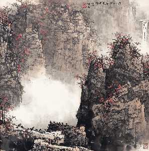 Bai Xueshi - HERDING IN THE AUTUMN MOUNTAINS