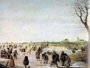 Barend Avercamp (Barend Petersz) - Ice view