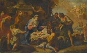 Anton Kern - Adoration of the Shepherds