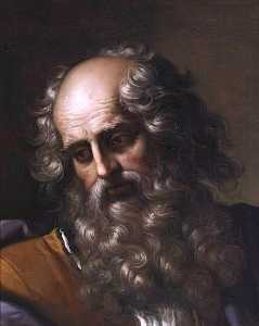 Benedetto Gennari The Younger - Head of Saint Paul