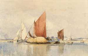 George Paul Chambers - The Hay Barge