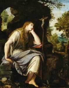 Alessandro Allori - The Penitent Magdalen in the Wilderness