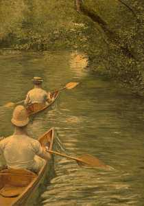 Order Paintings Reproductions | PERISSOIRES by Gustave Caillebotte (1848-1894, France) | WahooArt.com