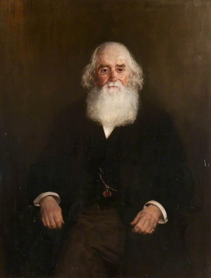 James Russell, First Provost of Motherwell, Oil On Canvas by George Ogilvy Reid