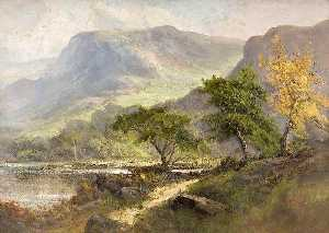 Frank Thomas Carter - Landscape with Hills
