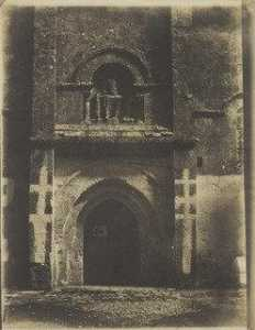 Gustave Le Gray - South Portal, Church of Saint Pierre, Melle, Deux Sèvres, France