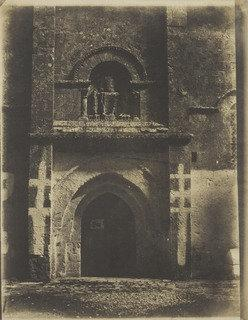 South Portal, Church of Saint Pierre, Melle, Deux Sèvres, France, 1851 by Gustave Le Gray (1820-1884) | Art Reproductions Gustave Le Gray | WahooArt.com