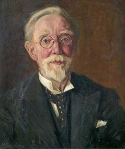 Harold Gresley - Frank Gresley (1855–1936) (the artist-s father)
