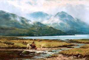 Hanry Hadfield Cubley - Morning Mists, Arrochar