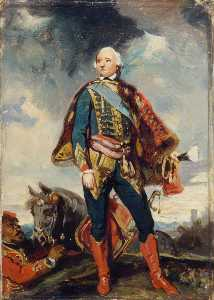 Camille Joseph Étienne Roqueplan - The duc de Chartres, Later Philippe Égalité, duc d'Orléans (copy after Joshua Reynolds)