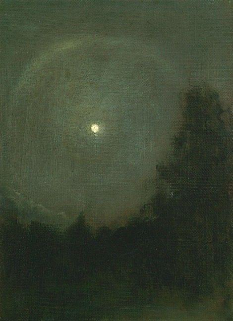 Moonlight Ring, 1920 by Henry Prellwitz | Oil Painting | WahooArt.com