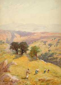 Henry Andrew Harper - The Fields Between Jerusalem and Jericho