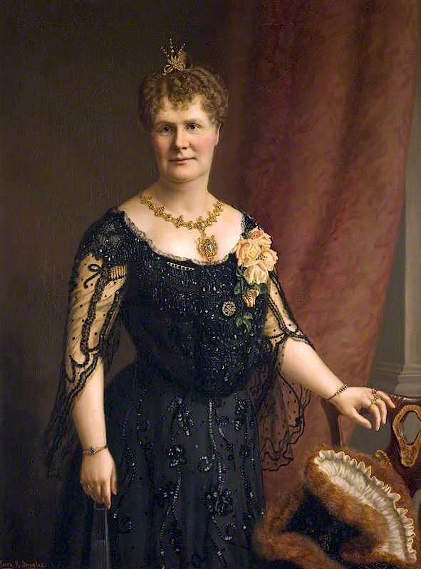 Lady M. A. Henderson, 1898 by Harry R Douglas | Museum Quality Reproductions | WahooArt.com