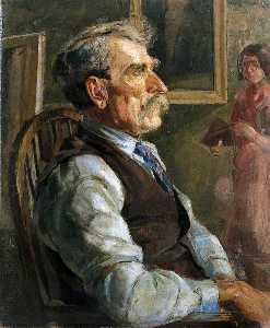 Rosemary Allan - Portrait of an Old Man