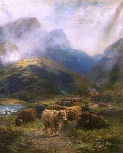 Henry Garland - Drovers- Rest in the Highlands