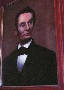 William Matthew Prior - Abraham Lincoln, (painting)
