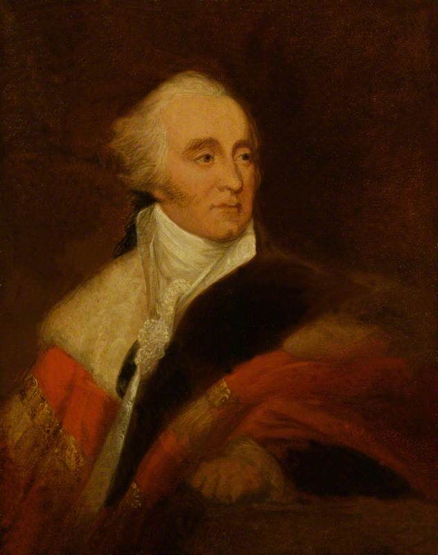 Gilbert Eliot, 1st Earl of Minto, Oil On Canvas by James Atkinson