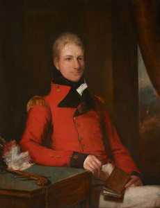 Order Museum Quality Reproductions : General the Honourable Sir Galbraith Lowry Cole (1772–1842), GCB, 1809 by Domenico Pellegrini (1759-1840) | WahooArt.com
