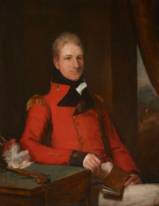 General the Honourable Sir Galbraith Lowry Cole (1772–1842), GCB, Oil On Canvas by Domenico Pellegrini (1759-1840)