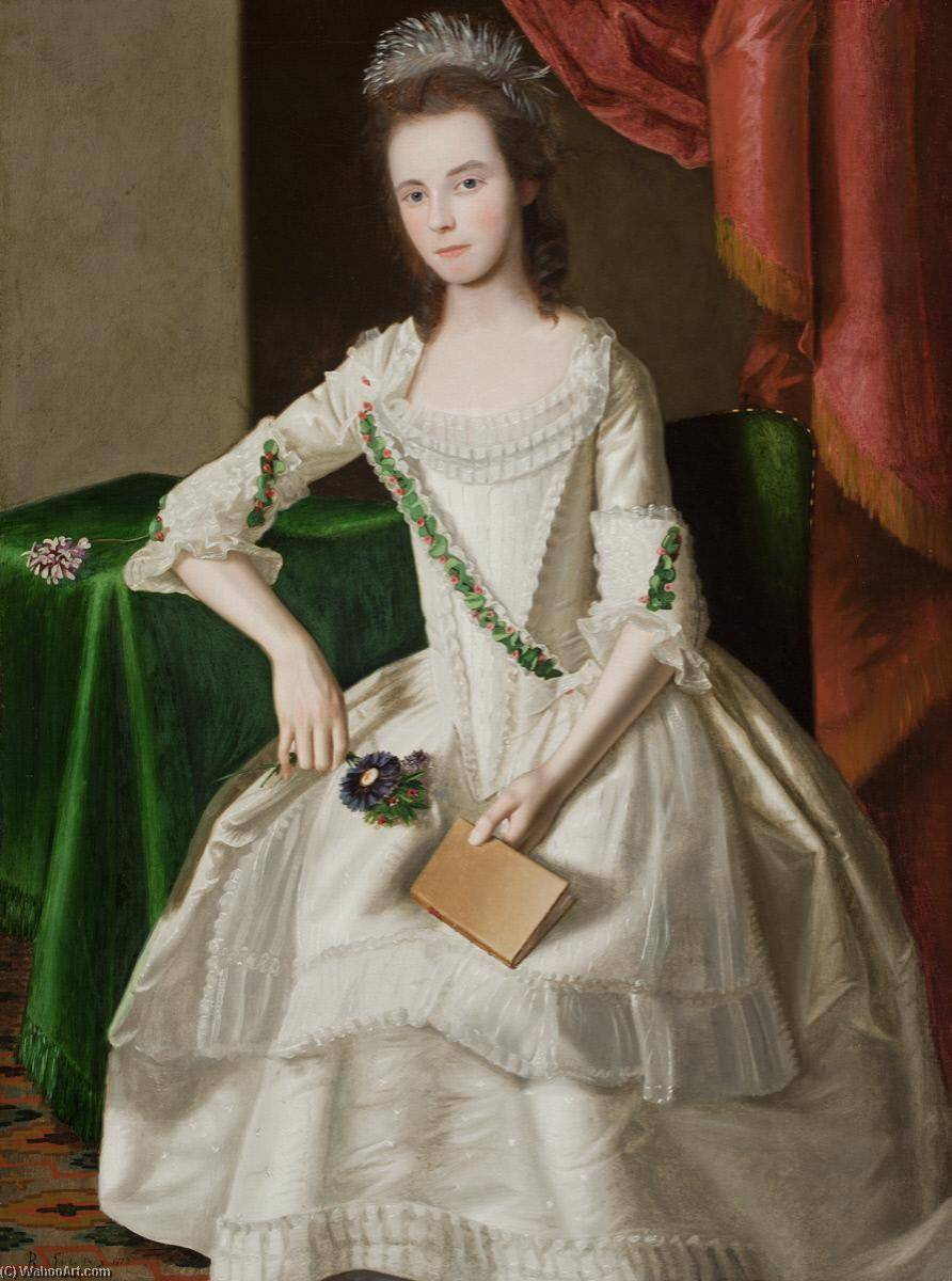 Order Paintings Reproductions | Mary Carpenter, 1779 by James Earle | WahooArt.com