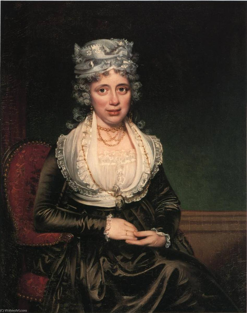 Order Paintings Reproductions | Mrs. James Courtney, 1786 by James Earle | WahooArt.com