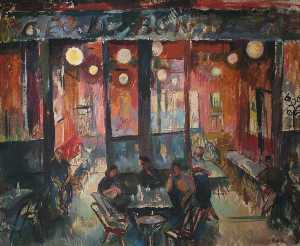 Evelyn Gibbs - Café Interior
