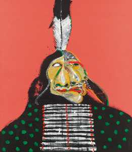 Fritz Scholder - Insane Warrior