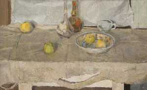 Order Paintings Reproductions | Still Life with Apples by John Philip Busby | WahooArt.com