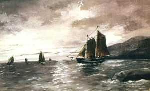 Samuel Thomas Beniams - Fleet, (painting)