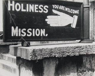 Religious Sign in Columbus, Ohio, Print by Benjamin Shahn (1898-1969, Lithuania)