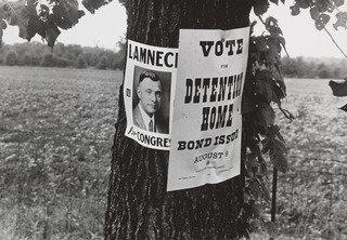 Campaign Posters, Central Ohio, Route 40, 1938 by Benjamin Shahn (1898-1969, Lithuania) | WahooArt.com