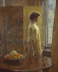 Frederick Childe Hassam - The East Window
