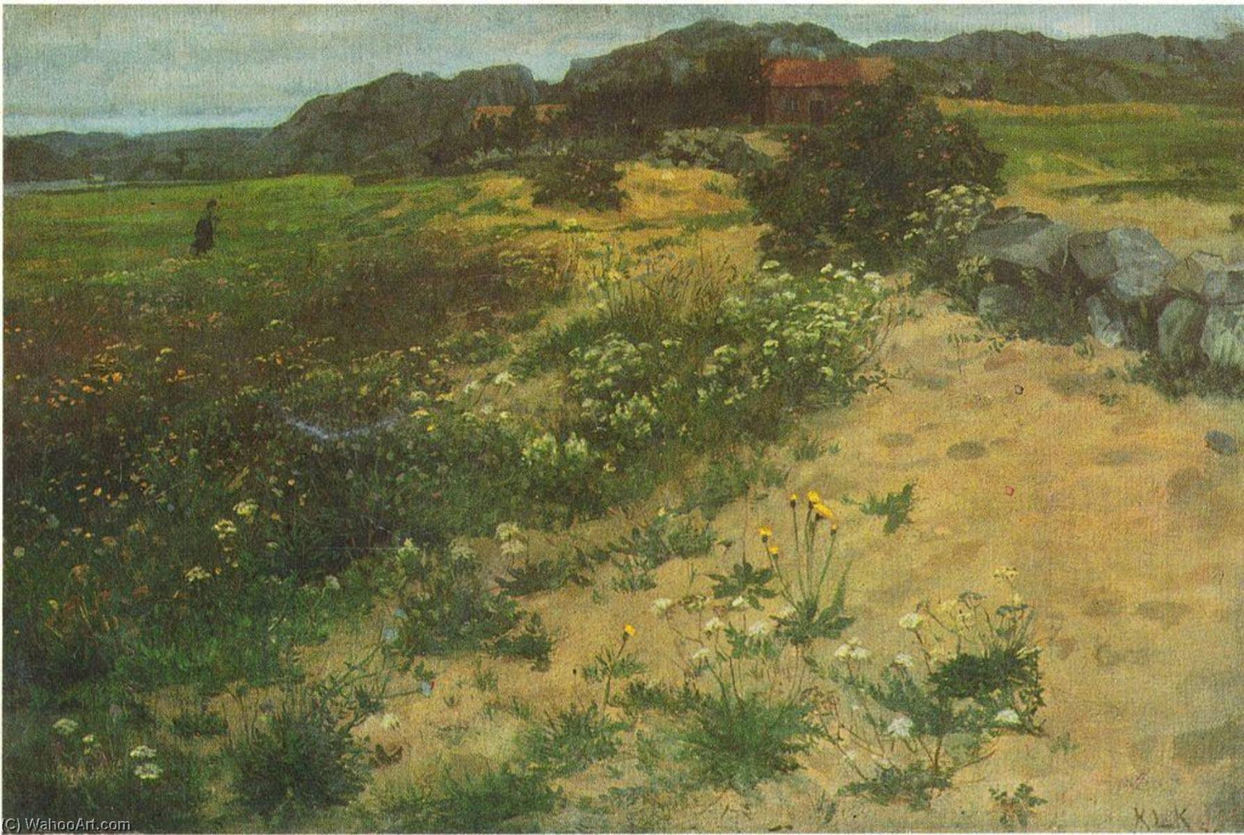 Order Museum Quality Reproductions : Jæren, 1878 by Kitty Kielland | WahooArt.com