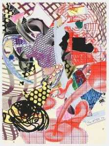 Frank Stella - Coxuria from The Geldzahler Portfolio
