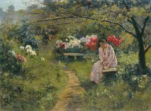 Sergei Svetoslavsky - In the Garden