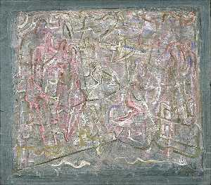 Mark Tobey - Saints and Serpents