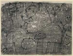 Jean Philippe Arthur Dubuffet - The Visitors Welcomed