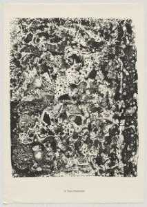 Jean Philippe Arthur Dubuffet - Ornamented Earth (Terre chamarrée) from the portfolio Theater of the Earth (Théâtre du sol) from Phenomena (Les Phénomènes)