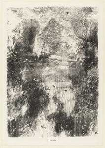 Jean Philippe Arthur Dubuffet - Rock Ground (Rocaille) from the portfolio Territories (Territoires) from Phenomena (Les Phénomènes)