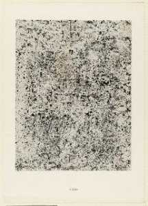 Jean Philippe Arthur Dubuffet - Ballet from the portfolio The Land Surveyor (L'Arpenteur) from Phenomena (Les Phénomènes)