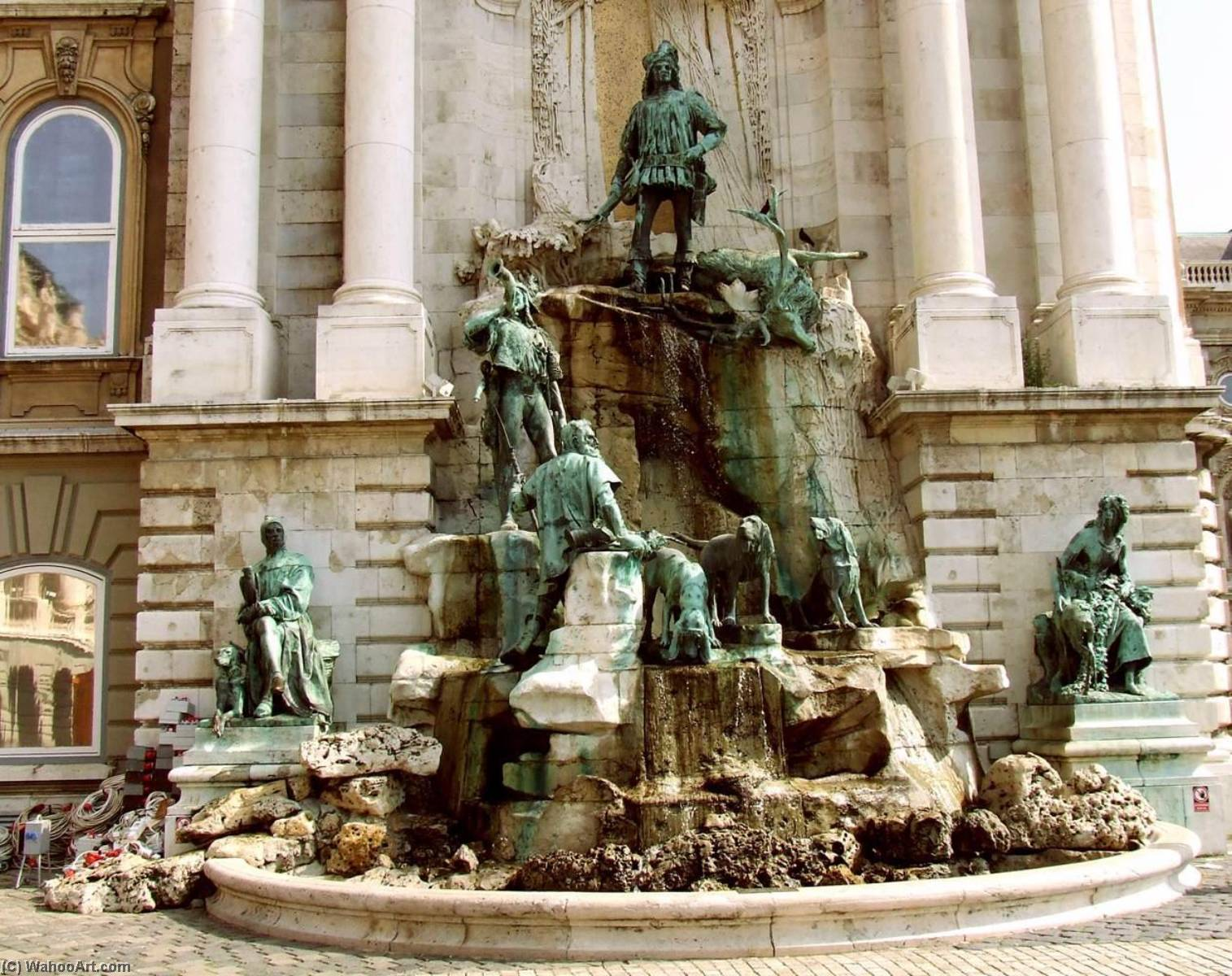 Fountain of King Matthias, 1904 by Alajos Stróbl | WahooArt.com