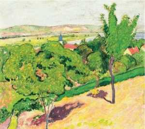 Arnold Gara - Hillside in Sunshine