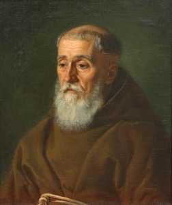 Jan Zasiedatel - Ukrainian Портрет капуцина Portrait of capuchin