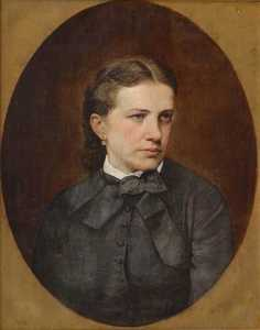 Jan Zasiedatel - Ukrainian Портрет Якубовської Portrait of Jakubowska