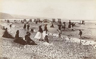 Pensarn Beach, 1855 by Francis Bedford | Museum Quality Reproductions | WahooArt.com