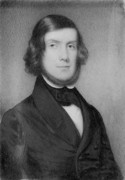 Powell MacRae, Watercolour by Henry Colton Shumway (1807-1884)