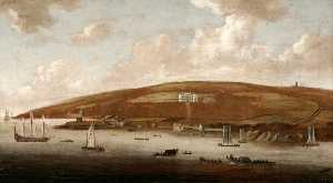 Gerard Van Edema - Mount Edgcumbe House and Park from Stonehouse