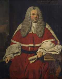 George Beare - Sir Charles Clarke (1702–1750), Baron of the Exchequer (1743–1750)