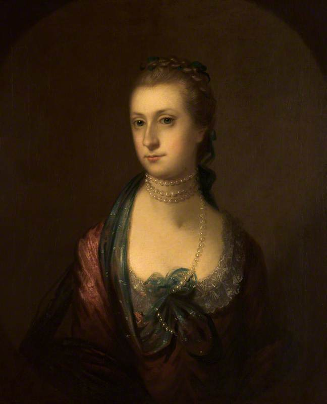 Ann Richmond (1743–1808), Oil On Canvas by John Astley